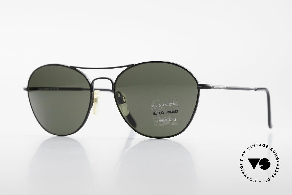 Giorgio Armani 646 Aviator Designer Sonnenbrille, Herren-Sonnenbrille vom Modedesigner G.Armani, Passend für Herren