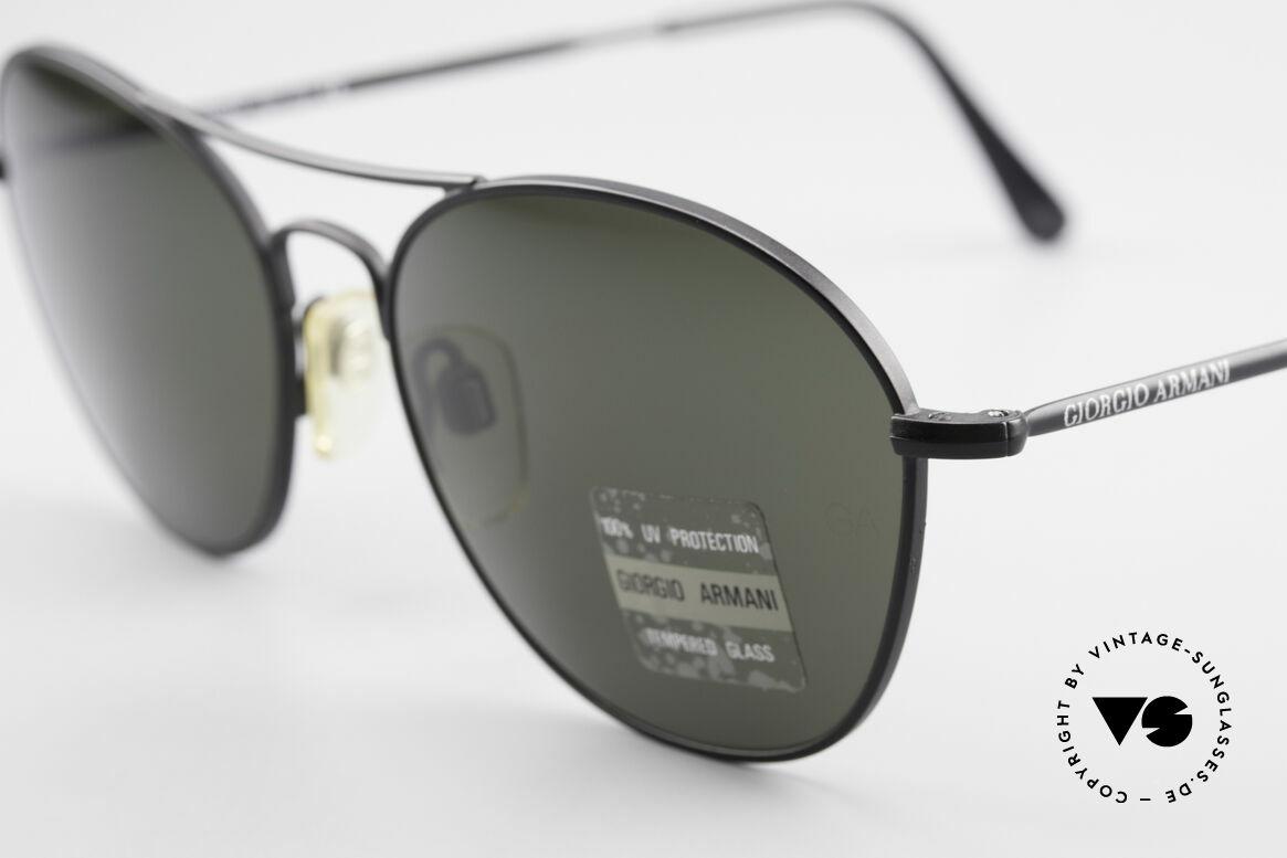 Giorgio Armani 646 Aviator Designer Sonnenbrille, dezenter, zeitloser Stil; passt gut zu jedem Look!, Passend für Herren