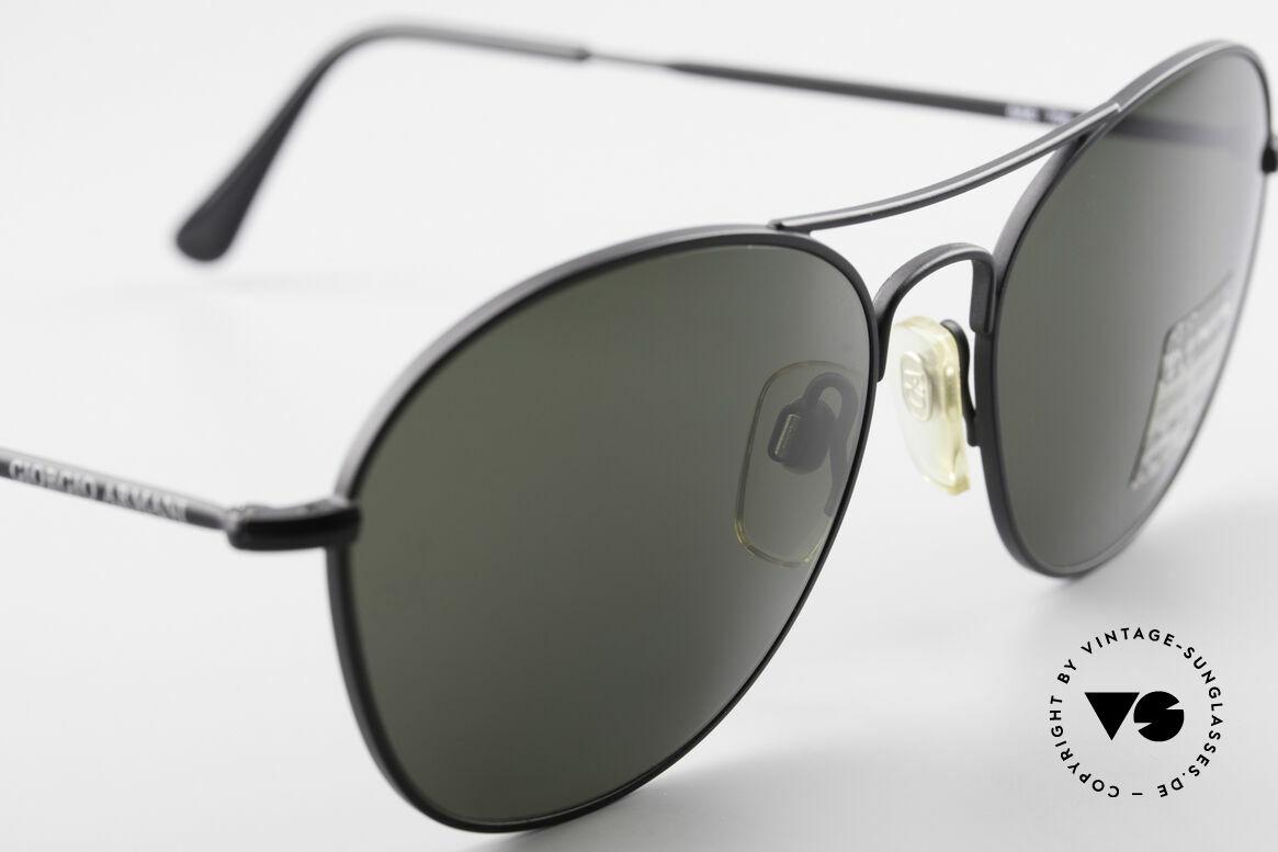 Giorgio Armani 646 Aviator Designer Sonnenbrille, ungetragen (wie all unsere 1990er Jahre Klassiker), Passend für Herren