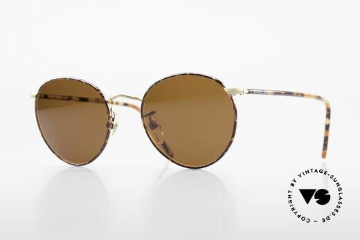 Giorgio Armani 138 Panto Vintage Sonnenbrille Details