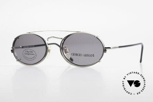 Giorgio Armani 240 Vintage Clip On Sonnenbrille Details