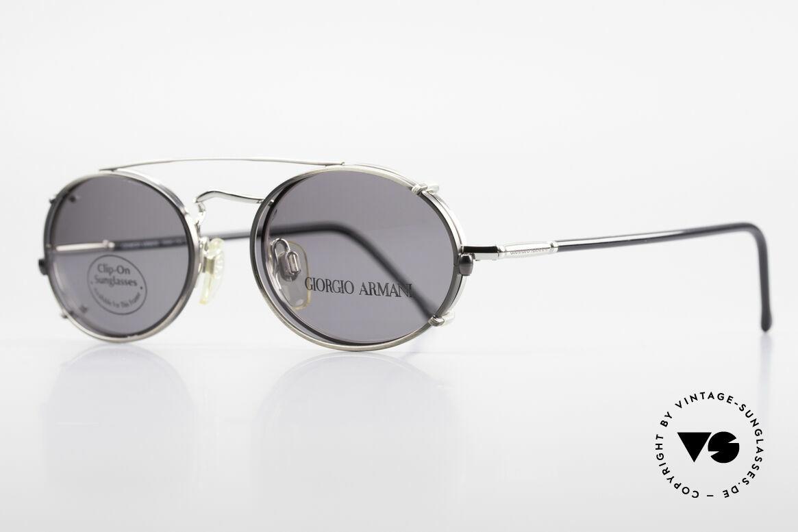 Giorgio Armani 240 Vintage Clip On Sonnenbrille