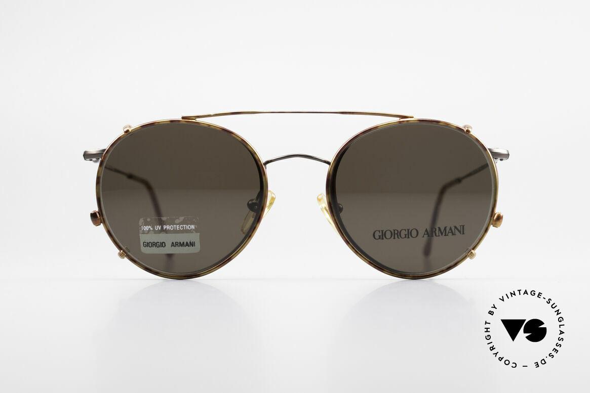 Giorgio Armani 253 Panto Vintage Brille Clip On