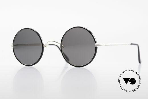 Giorgio Armani 111 Runde Vintage Sonnenbrille Details