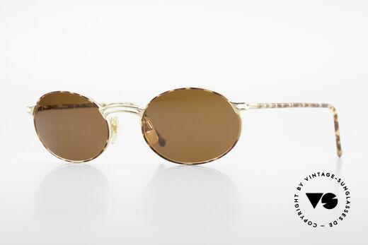 Giorgio Armani 194 Ovale Sonnenbrille No Retro Details