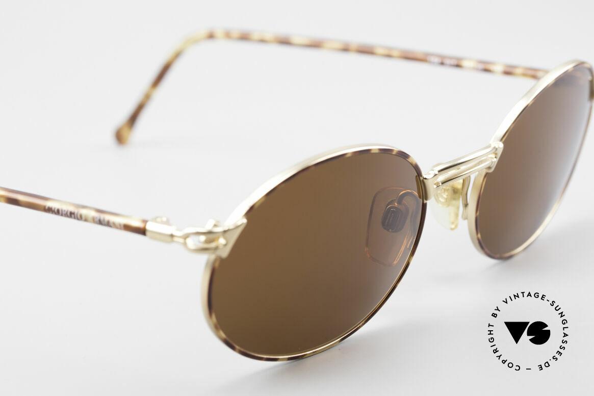 Giorgio Armani 194 Ovale Sonnenbrille No Retro