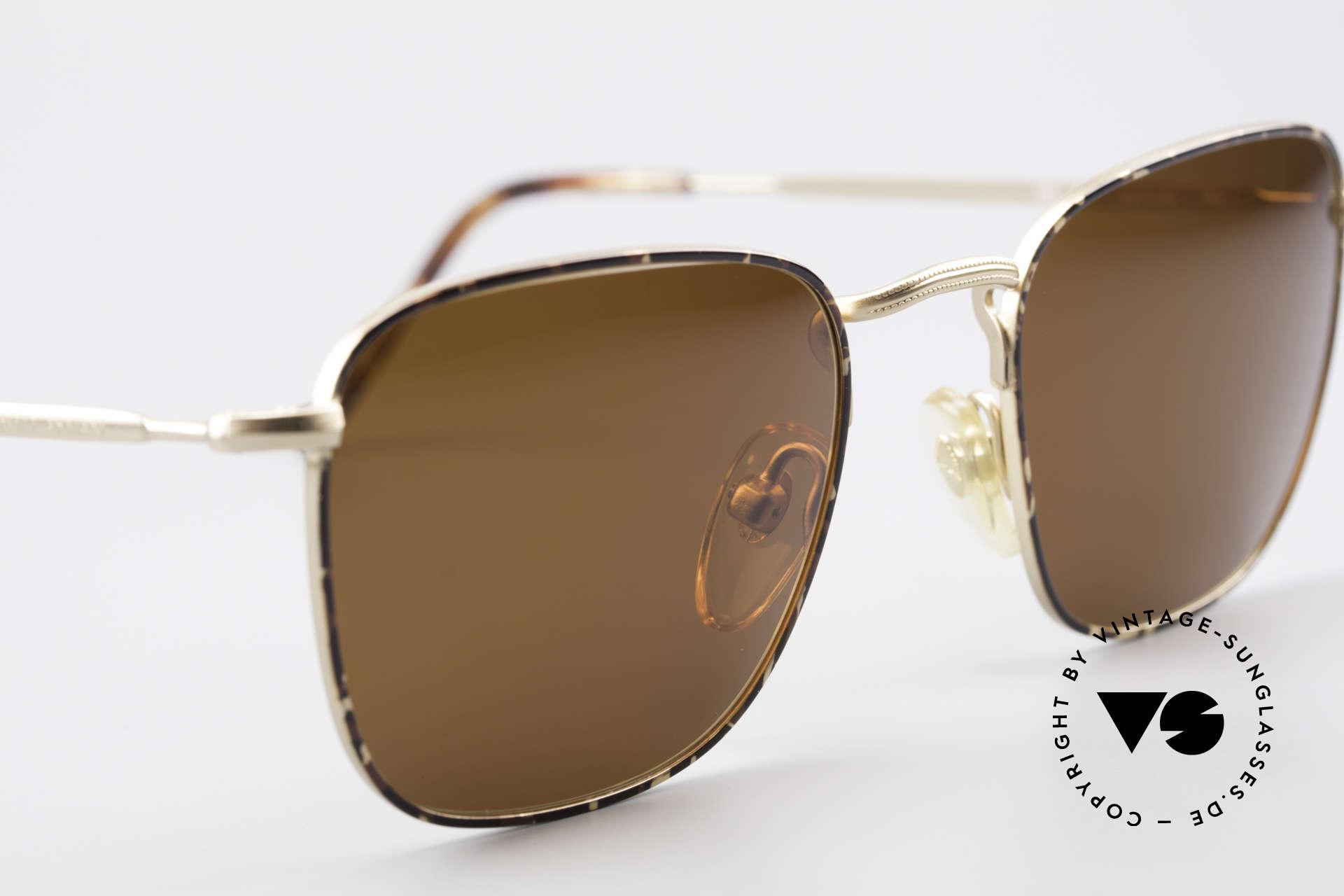 Giorgio Armani 137 Eckige Panto Vintage Brille, ungetragen (wie all unsere G.Armani Sonnenbrillen), Passend für Herren