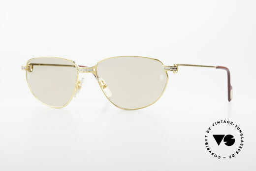 Cartier Panthere Windsor - L 90er Luxus Sonnenbrille Details