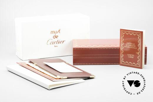 Cartier Demi Lune LC 80er Luxus Lesebrille Vintage