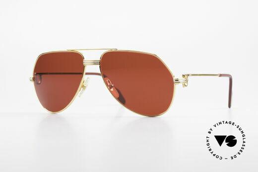 Cartier Vendome LC - S David Bowie Sonnenbrille 80er Details