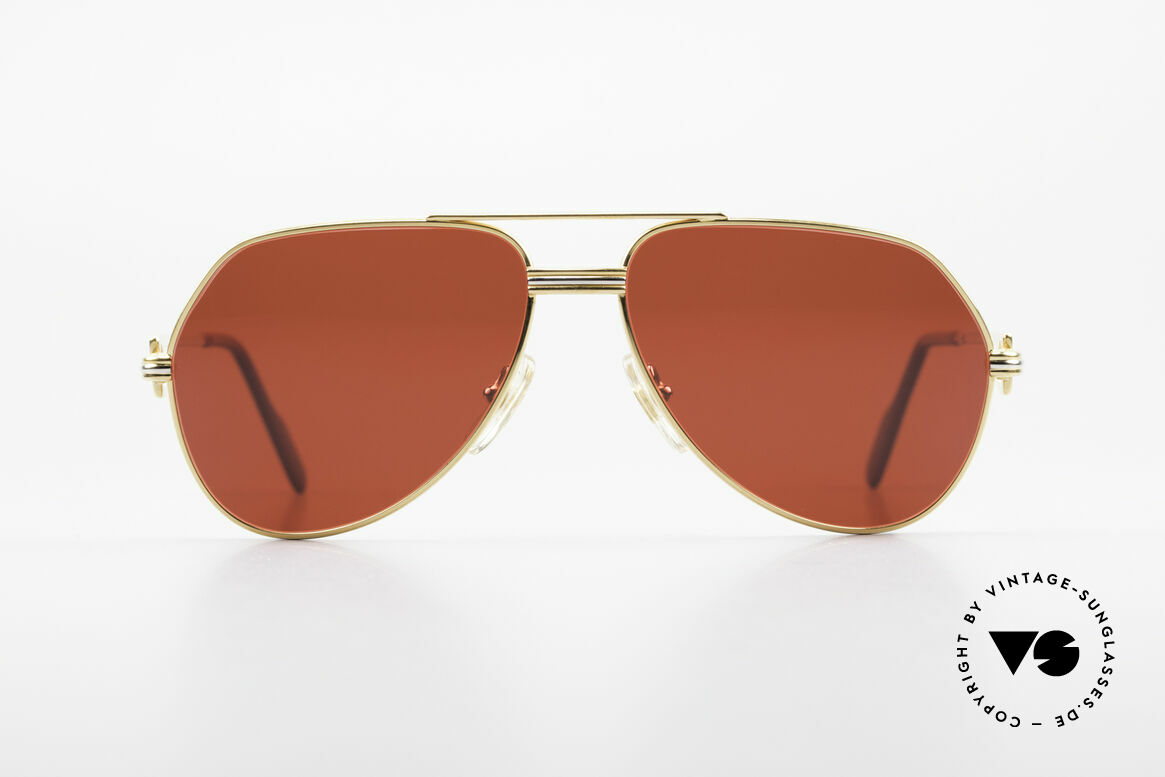 Cartier Vendome LC - S David Bowie Sonnenbrille 80er