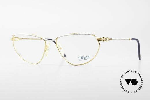 Fred Alize Luxus M Brillenfassung Damen Details