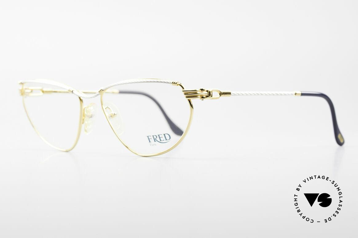 Fred Alize Luxus M Brillenfassung Damen, der Name sagt alles: 'Alizé' = das 'Passat Windsystem', Passend für Damen