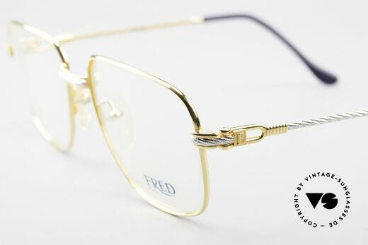 Fred Zephir Luxus Segler Brille Herren