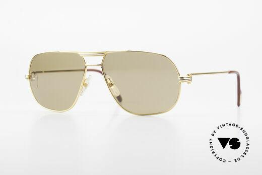 Cartier Tank - M Luxus Gläser mit Hauchzeichen Details