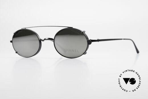 Chanel 2037 Luxus Brille Oval Sonnenclip Details
