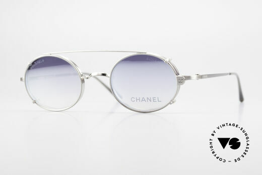 Chanel 2037 Ovale Luxus Brille Sonnenclip Details