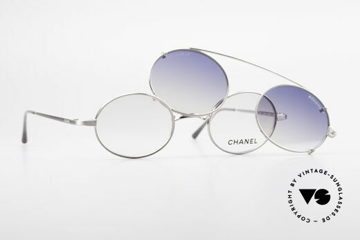 Chanel 2037 Ovale Luxus Brille Sonnenclip