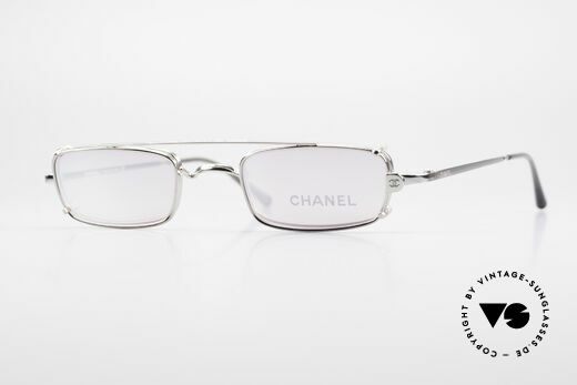 Chanel 2038 Pinke Luxus Brille Sonnenclip Details