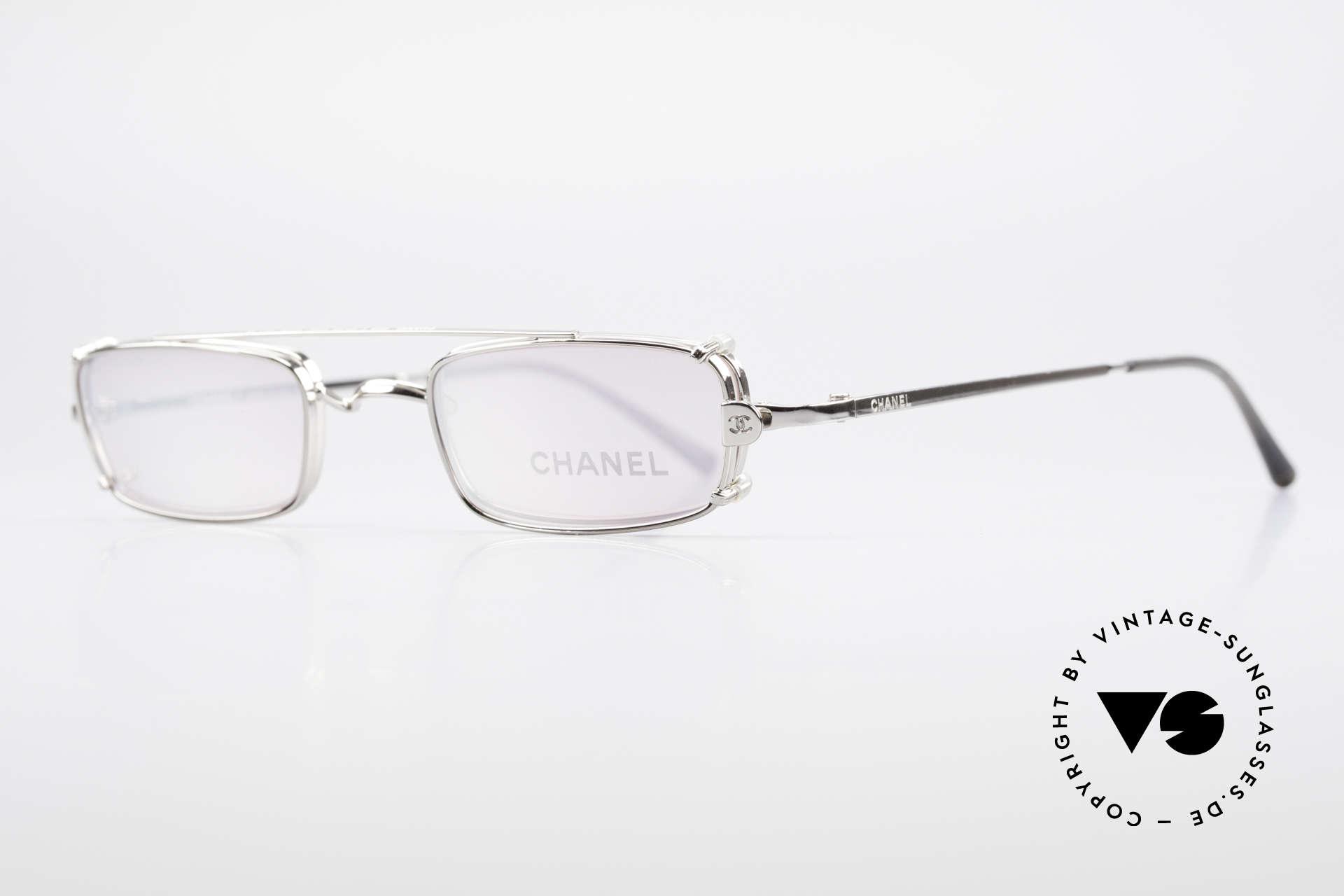 Chanel 2038 Pinke Luxus Brille Sonnenclip, Luxus-Lifestyle & Top-Funktionalität gleichermaßen, Passend für Damen