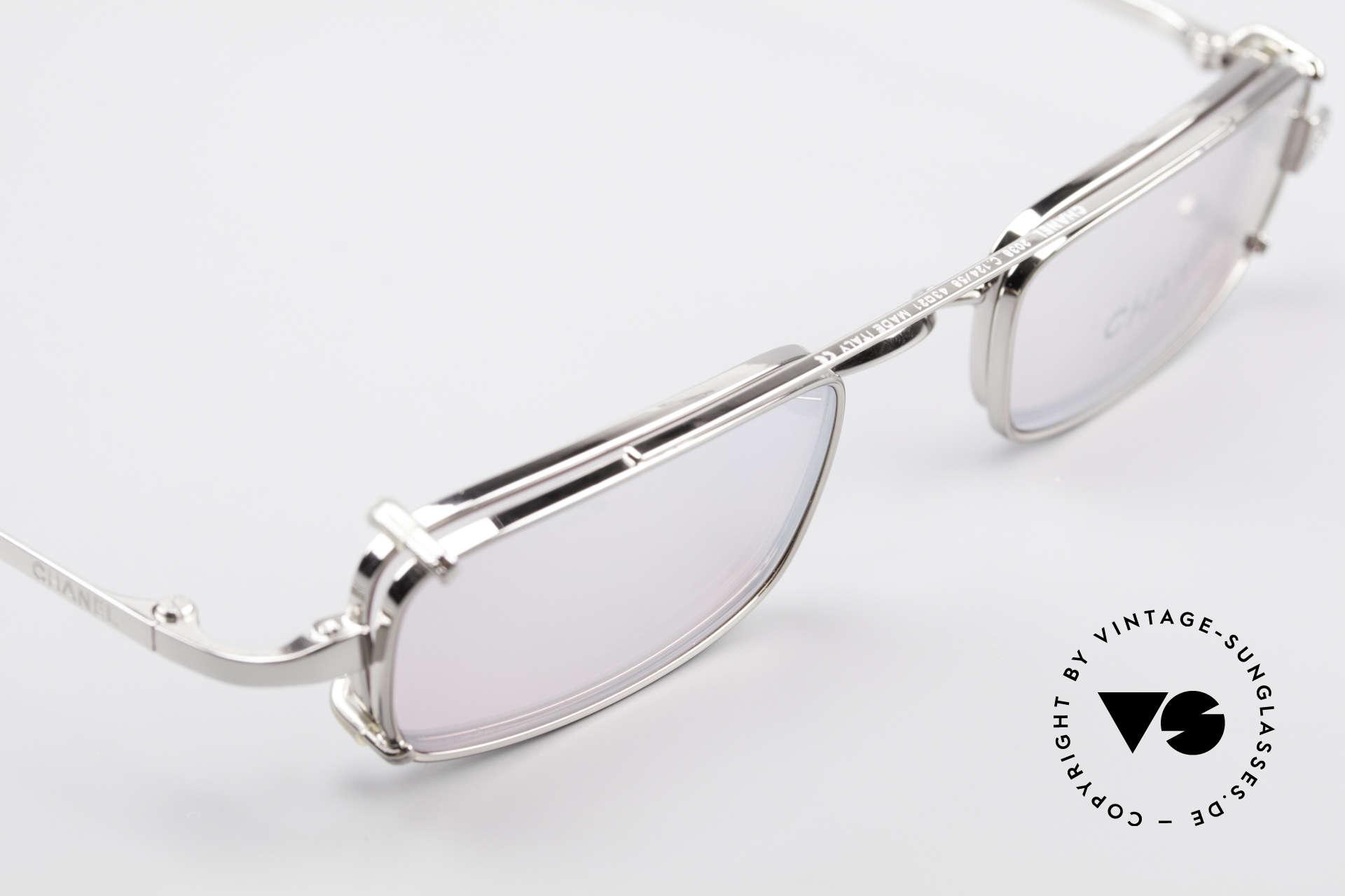 Chanel 2038 Pinke Luxus Brille Sonnenclip, ungetragenes Designerstück mit original Chanel Etui, Passend für Damen