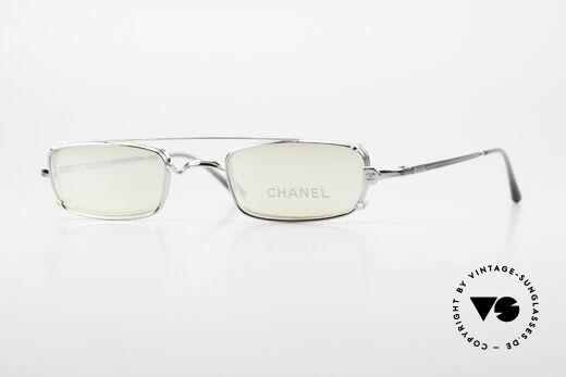 Chanel 2038 Kleine Luxus Brille Sonnenclip Details