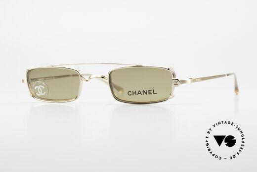 Chanel 2038 Unisex Luxus Brille Sonnenclip Details