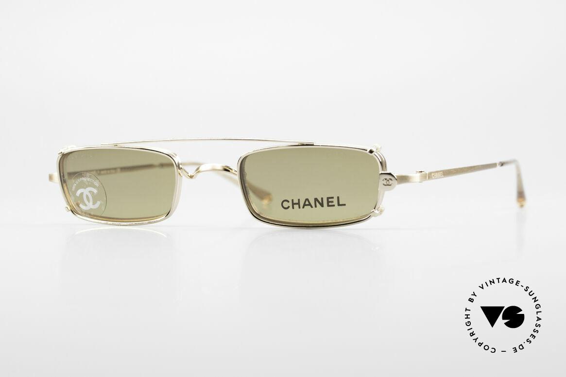 Chanel 2038 Unisex Luxus Brille Sonnenclip, CHANEL Brille 2038, Größe 43-21, 135 in Farbe c190, Passend für Herren und Damen