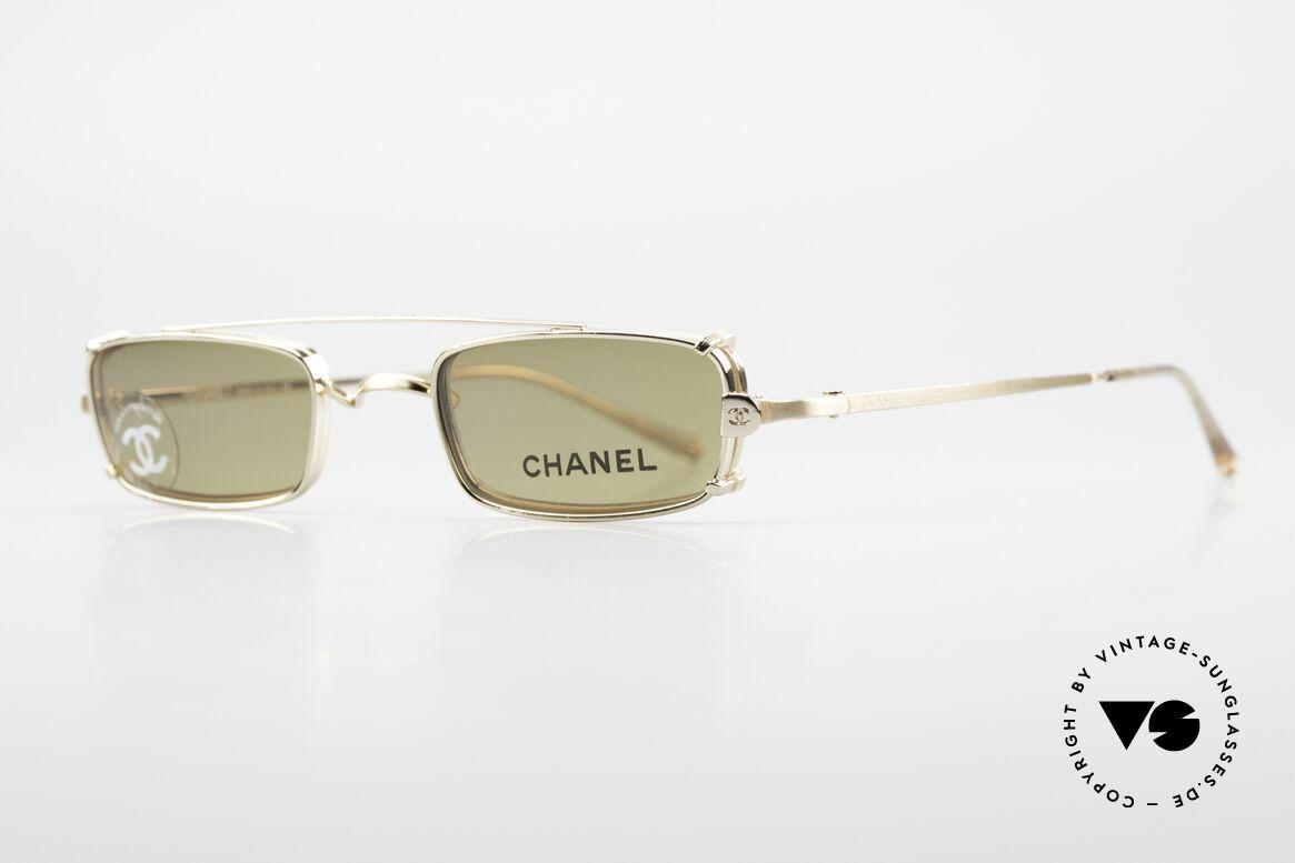 Chanel 2038 Unisex Luxus Brille Sonnenclip, Luxus-Lifestyle & Top-Funktionalität gleichermaßen, Passend für Herren und Damen