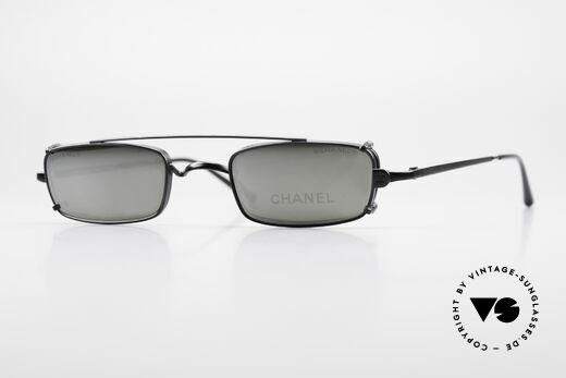 Chanel 2038 Luxus Brille Eckig Sonnenclip Details