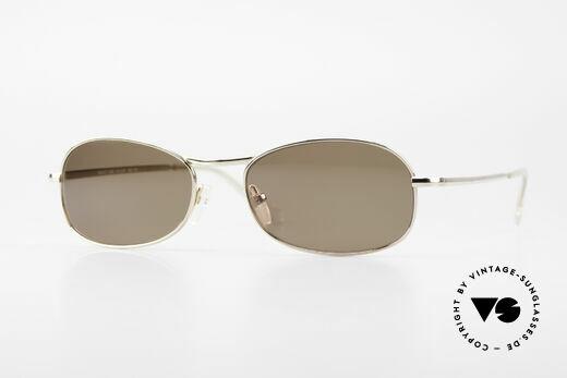 Helmut Lang SHL53A Minimalistische Titan Brille Details