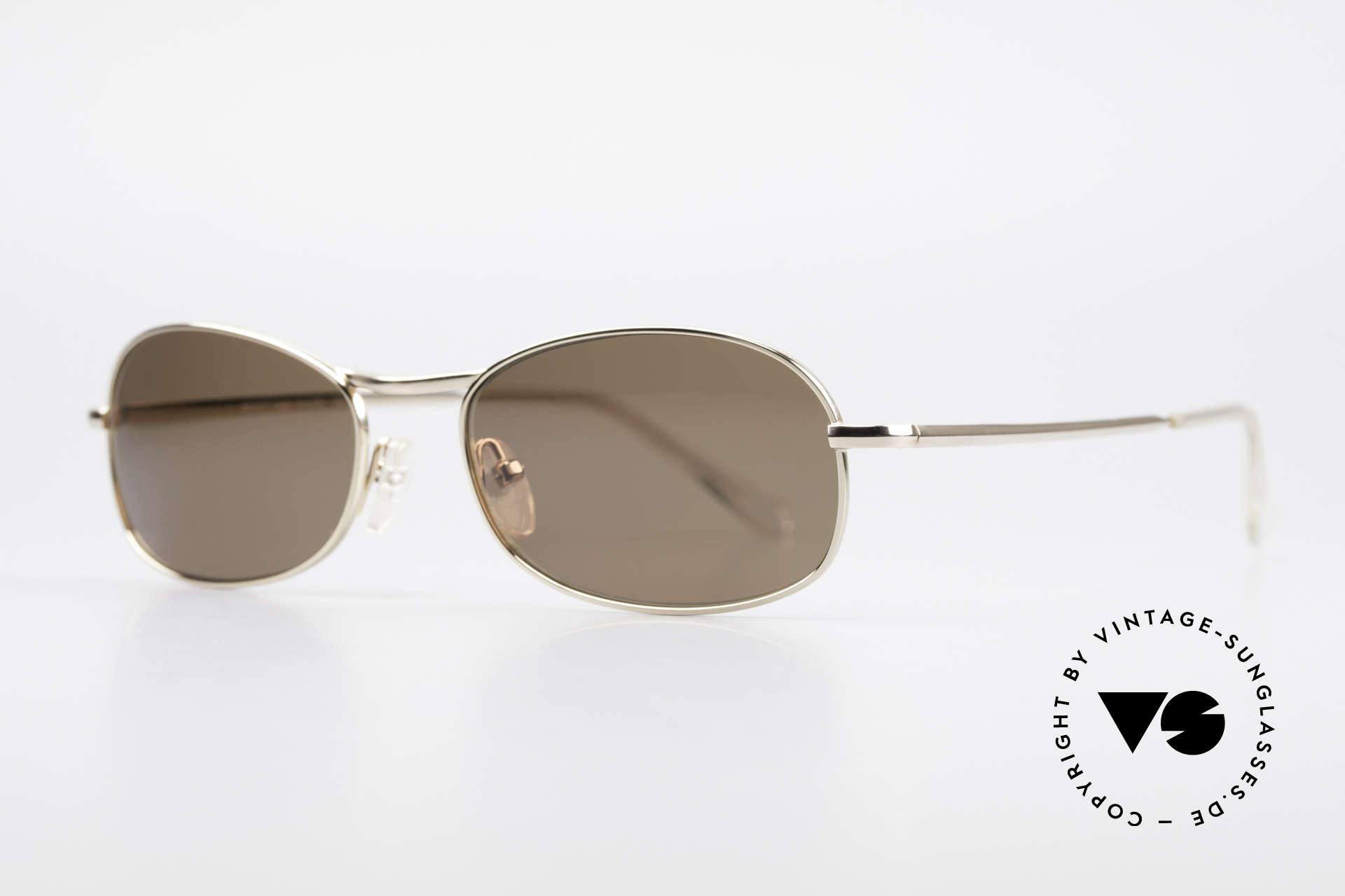 Helmut Lang SHL53A Minimalistische Titan Brille, Insider Sonnenbrille mit Kult-Status für Avantgardisten, Passend für Herren