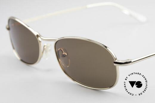 Helmut Lang SHL53A Minimalistische Titan Brille