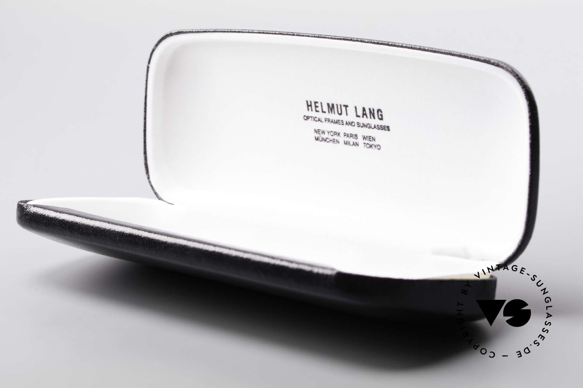 Helmut Lang SHL53A Minimalistische Titan Brille, Größe: medium, Passend für Herren