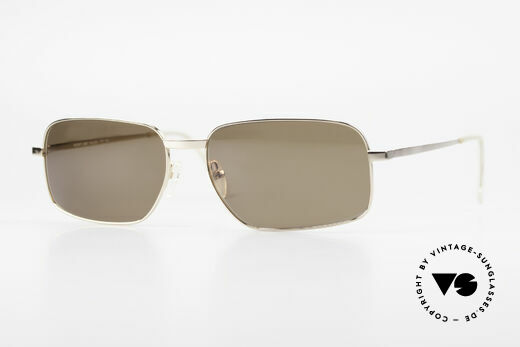 Helmut Lang SHL62A Titan Sonnenbrille Avantgarde Details
