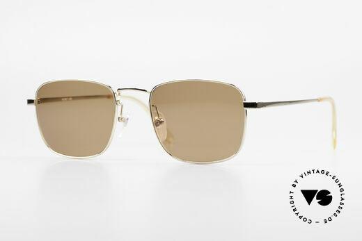 Helmut Lang 21-0004 Titanium Sonnenbrille Herren Details