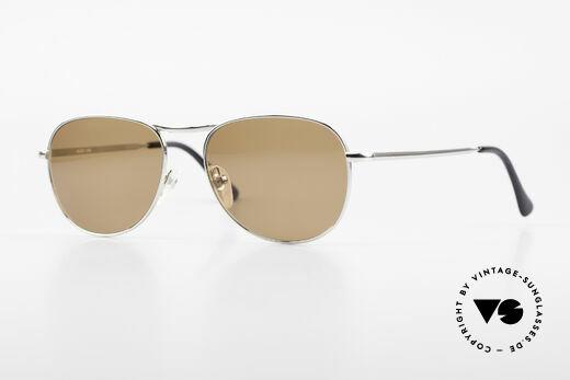 Helmut Lang 21-0006 Zeitlose Titanium Sonnenbrille Details