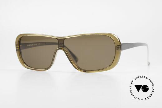 Helmut Lang SHL02B Stylische Titan Sonnenbrille Details