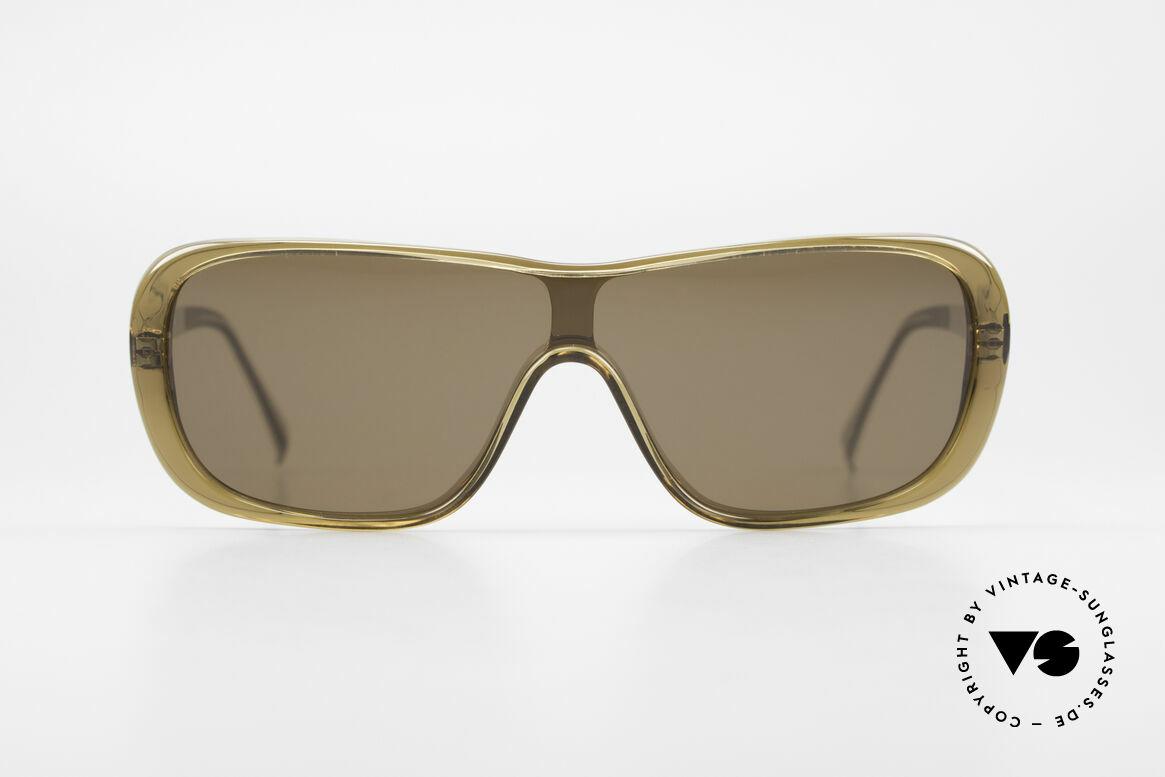 Helmut Lang SHL02B Stylische Titan Sonnenbrille