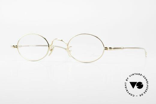Lunor Oval Zeitlose Vintage Brille 90er Details
