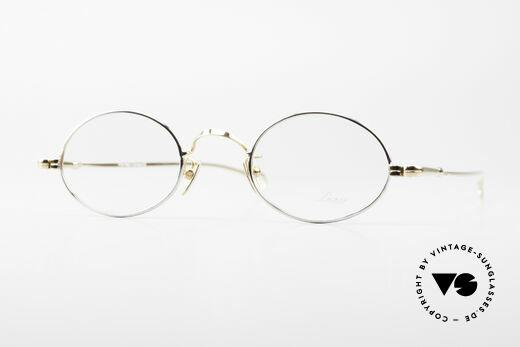 Lunor Oval Klassische Vintage Brille 90er Details