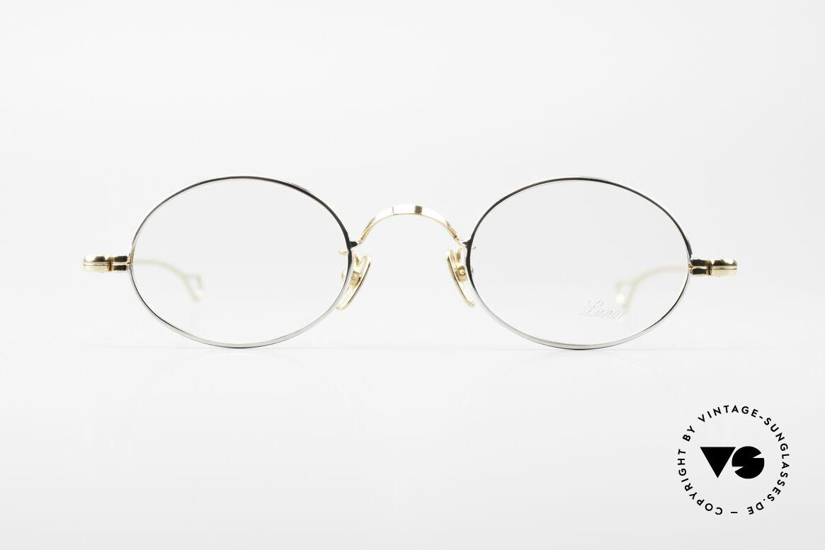 Lunor Oval Klassische Vintage Brille 90er