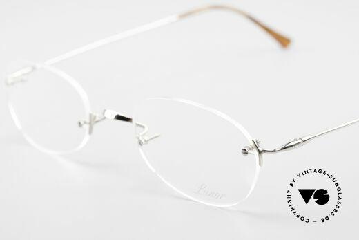 Lunor Rimless Randlose Vintage Brille 90er