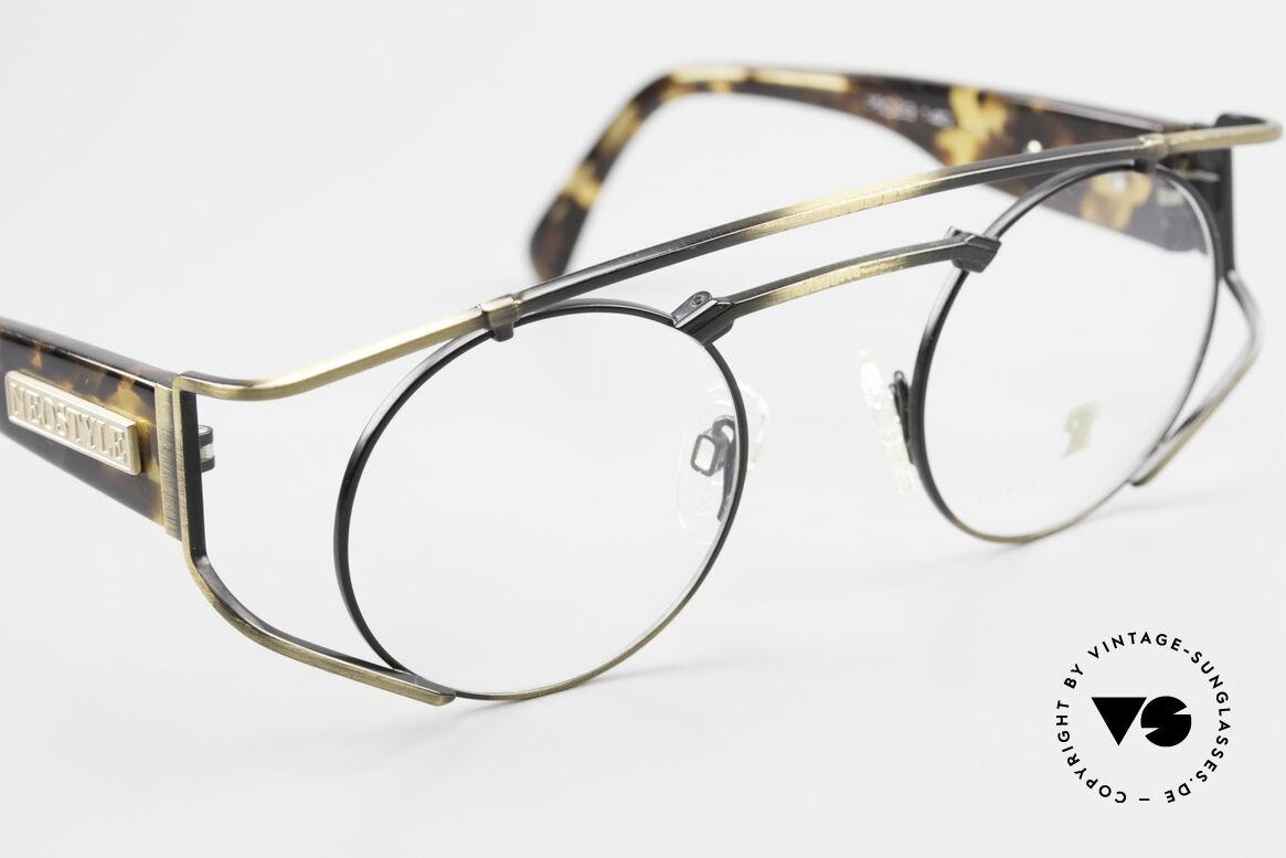 """Neostyle Superstar 1 Steampunk Vintage Brille, ungetragen (wie alle unsere """"Steampunk"""" Brillen), Passend für Herren und Damen"""