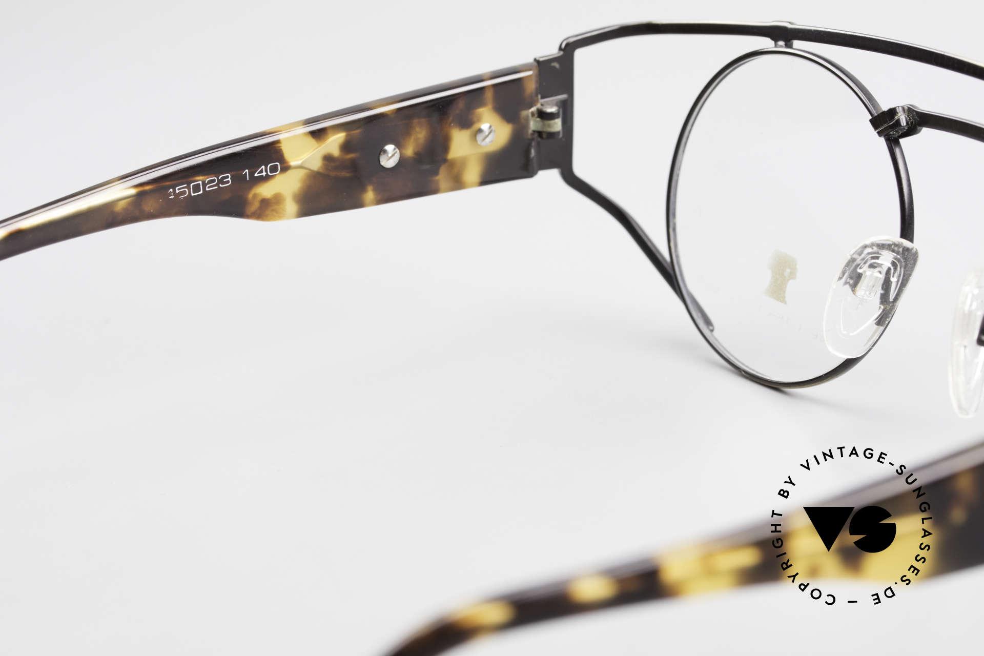 Neostyle Superstar 1 Steampunk Vintage Brille, KEINE RETROBRILLE, sondern ein altes ORIGINAL, Passend für Herren und Damen