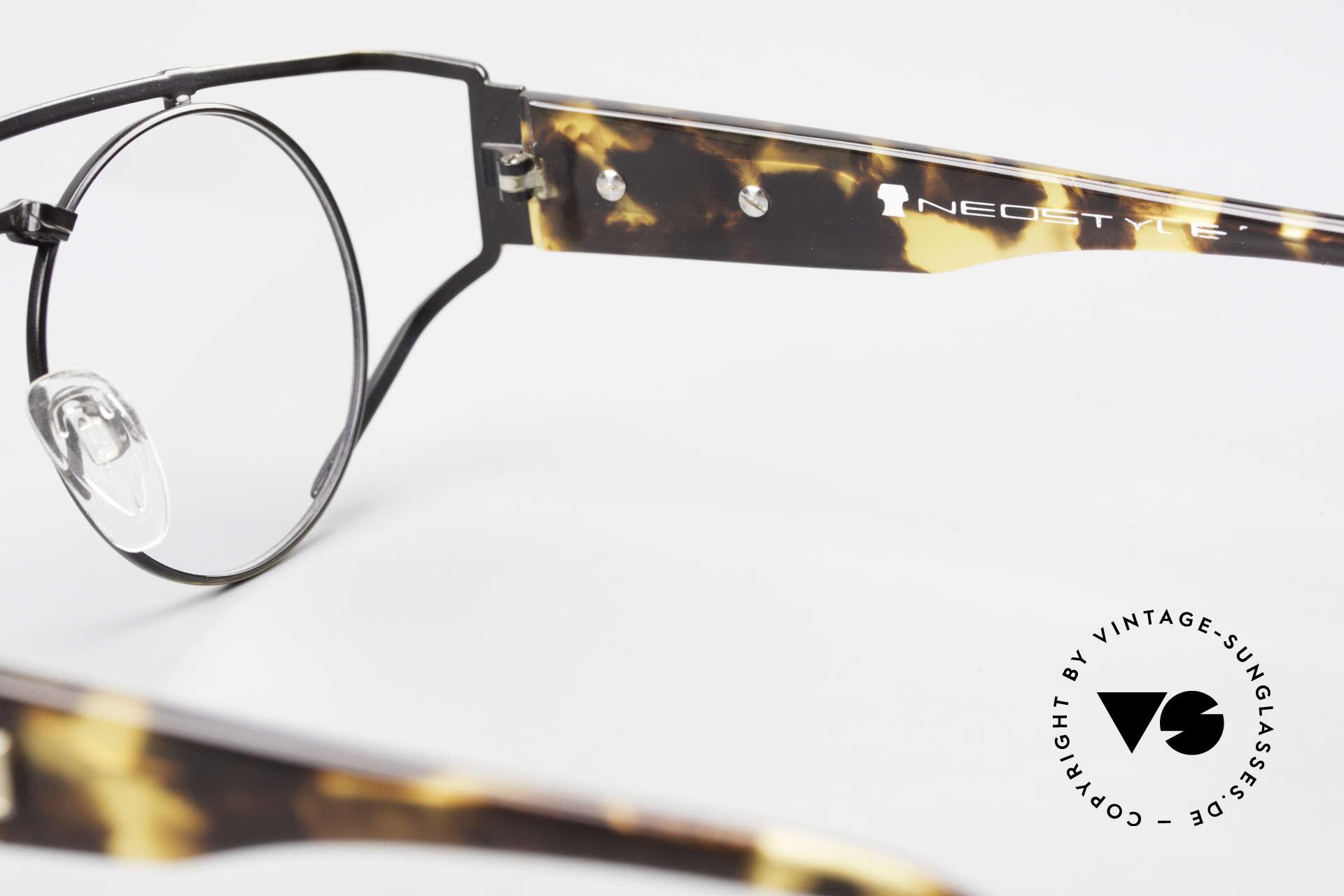 Neostyle Superstar 1 Steampunk Vintage Brille, Größe: medium, Passend für Herren und Damen