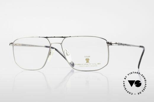 Neostyle Dynasty 362 Vintage XL Titanbrille Herren Details