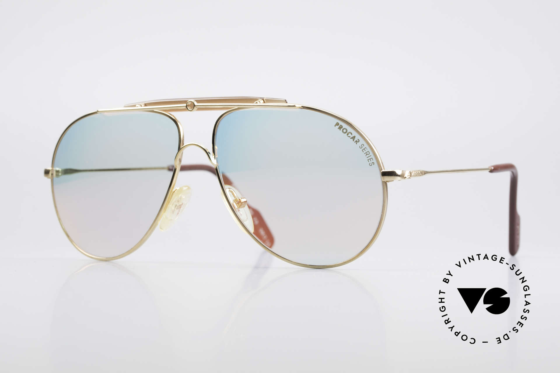 Alpina PC73 ProCar Serie Sonnenbrille Men, 'PC' = legendäre Procar Serie von ALPINA aus den 90ern, Passend für Herren und Damen