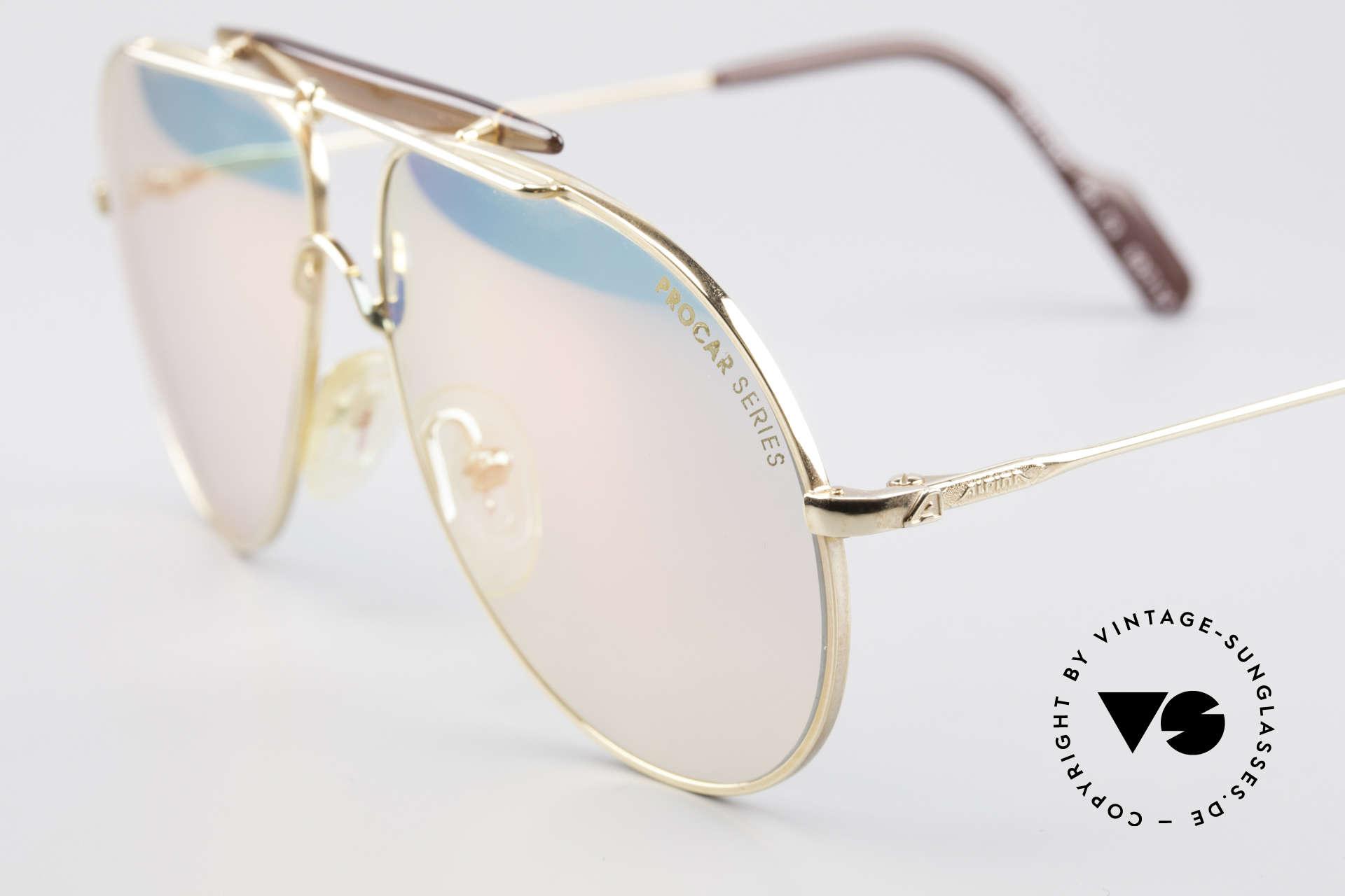 Alpina PC73 ProCar Serie Sonnenbrille Men, ungetragen (wie all unsere Alpina ProCar Sonnenbrillen), Passend für Herren und Damen