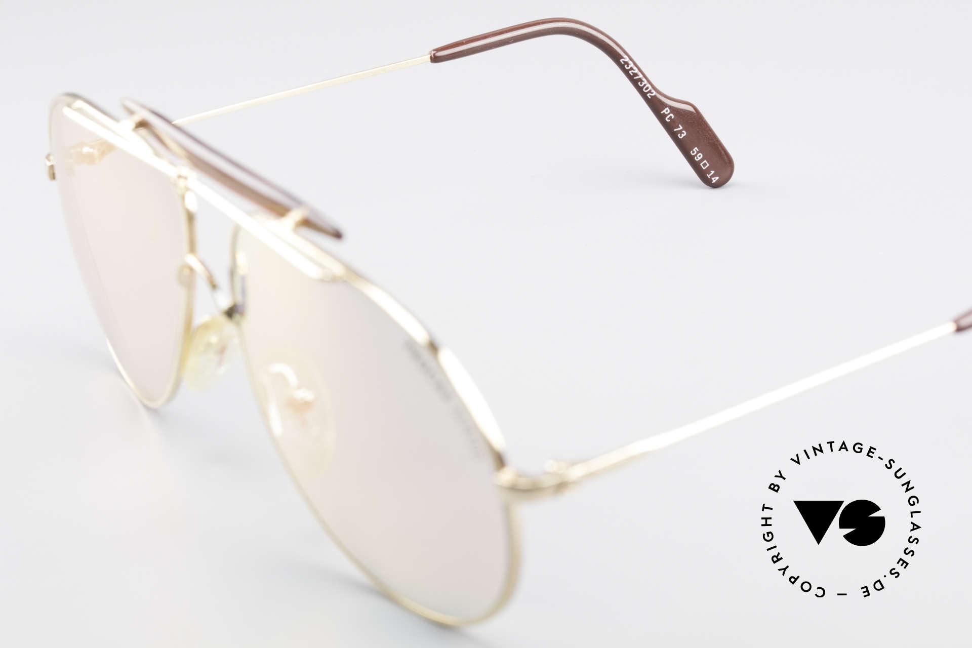 Alpina PC73 ProCar Serie Sonnenbrille Men, KEINE Retrosonnenbrille, sondern 100% vintage Original, Passend für Herren und Damen